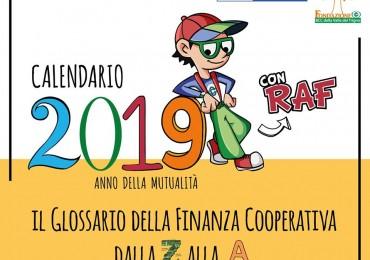 Calendario 2019 con RAF – Anno della Mutualità